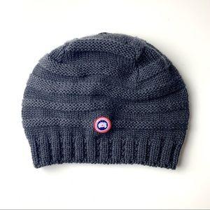 Canada Goose Graphite Merino Beanie Hat